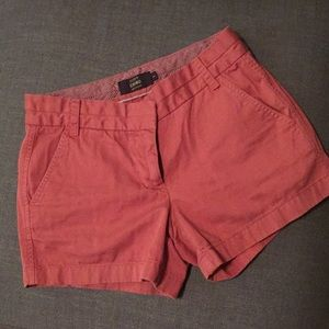 J Crew chino shorts in old red - 2